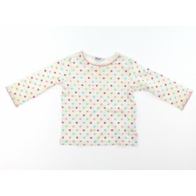 【ミキハウス/mikiHOUSE】Tシャツ・カットソー 70サイズ 女の子【USED子供服・ベビー服】(384665)