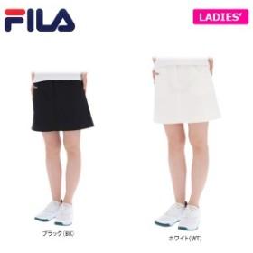 フィラ レディース 撥水 ストレッチ ロゴ刺繍 台形 スカート 759-301 [2019年春夏モデル]