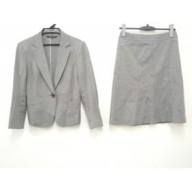 【中古】 ニジュウサンク 23区 スカートスーツ サイズ38 M レディース グレー