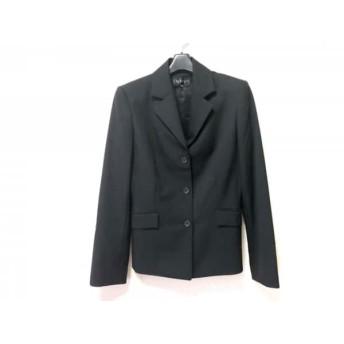 【中古】 インディビ INDIVI ジャケット サイズ40 M レディース 黒