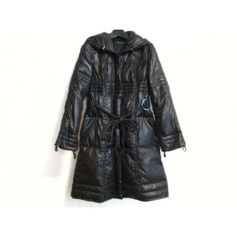 【中古】 リッチミーニューヨーク Riccimie NEW YORK コート サイズ1 S レディース 美品 黒 冬物