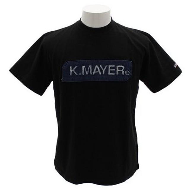 クリフメイヤー(KRIFF MAYER) ブランドロゴTシャツ エンボス 1857205-4-BLK (Men's)