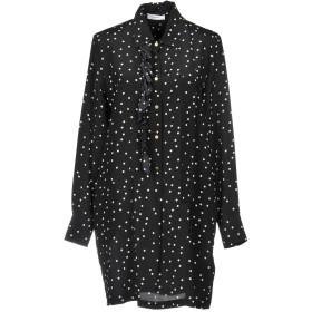 《送料無料》MAURO GRIFONI レディース ミニワンピース&ドレス ブラック 46 シルク 100%