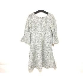 【中古】 アナイ ANAYI ワンピース サイズ36 S レディース 美品 白 黒