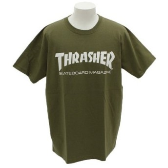 THRASHER 【オンライン特価】 半袖Tシャツ TH8101HW-OLV (Men's)