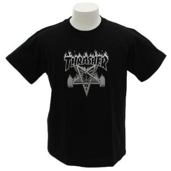 THRASHER SKATE GOAT 半袖Tシャツ TH91227BK (Men's)