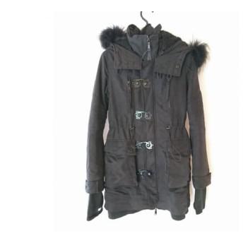 【中古】 スライ SLY コート サイズ1 S レディース 黒 MILITARY/冬物