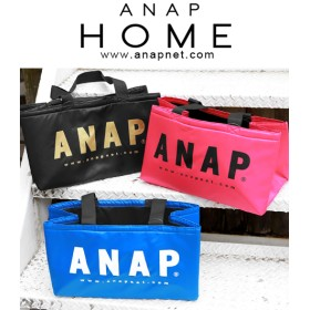 【セール開催中】ANAP(アナップ)ANAPロゴ保冷レジカゴバッグ