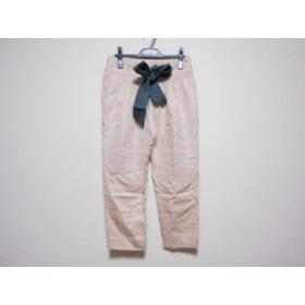 【中古】 メゾン ド リーファー Maison de Reefur パンツ サイズ36 S レディース ピンク ダークグリーン