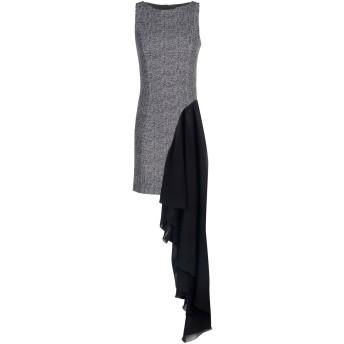 《期間限定セール開催中!》RELISH レディース ミニワンピース&ドレス ブラック 40 ポリエステル 95% / ポリウレタン 5%