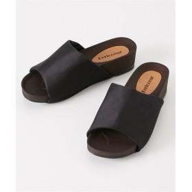 ウェッジソールサンダル(スエード調)(ワイズ4E) サンダル, Sandals, 凉鞋, 涼鞋
