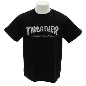 THRASHER HOMETOWN 半袖TシャツTH91113BK (Men's)