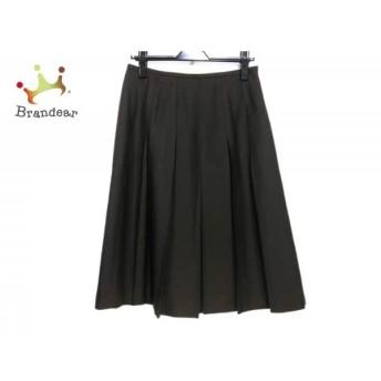 ジユウク 自由区/jiyuku スカート サイズ40 M レディース ダークブラウン プリーツ スペシャル特価 20190903