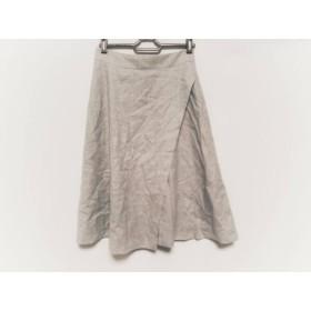 【中古】 ニジュウサンク 23区 スカート サイズ32 XS レディース グレー
