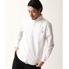 [マルイ] ZIP FIVE × KANGOL ワンポイント刺繍長袖ブロードシャツ/ジップファイブ(ZIP FIVE)