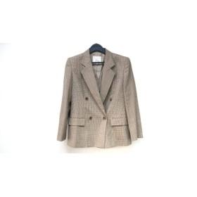 【中古】 バーバリーズ Burberry's ジャケット サイズ40 M レディース ベージュ マルチ