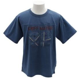 クリフメイヤー(KRIFF MAYER) インディゴフットボールTシャツ 1855112-1-LBLU (Men's)