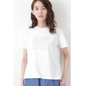 HUMAN WOMAN / ヒューマンウーマン イラストプリントTシャツ