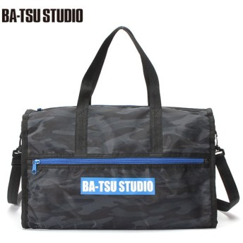 BA-TSU STUDIO バツスタジオ 迷彩ボストンプールBAG 黒系迷彩 男児服飾 ボーイズビーチバック 海水小物 575050 バツスタジオ
