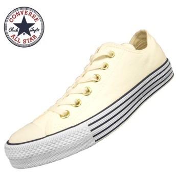 コンバース CONVERSE ALL STAR 40S STRIPEDSOLE OX 1SC104 白 オールスター 40S ストライプドソール オックス レディース/メンズ