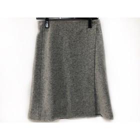 【中古】 セオリー theory 巻きスカート サイズ0 XS レディース グレー