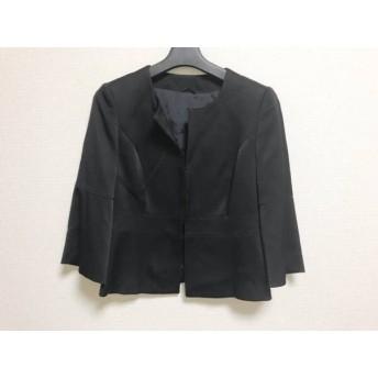 【中古】 アナイ ANAYI ジャケット サイズ36 S レディース 美品 黒