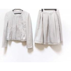 【中古】 ナチュラルビューティー NATURAL BEAUTY スカートスーツ レディース 美品 ベージュ