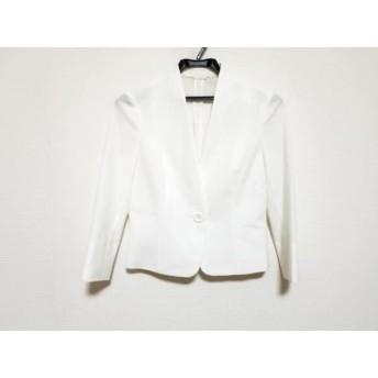 【中古】 アナイ ANAYI ジャケット サイズ36 S レディース 美品 白