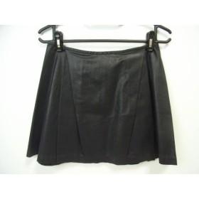 【中古】 ポロラルフローレン POLObyRalphLauren スカート サイズ4 S レディース 黒