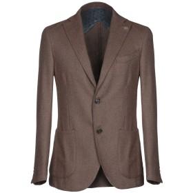 《期間限定セール開催中!》BARBATI メンズ テーラードジャケット キャメル 50 コットン 44% / ウール 40% / ナイロン 14% / 指定外繊維 2%