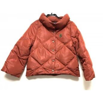 【中古】 ホコモモラ JOCOMOMOLA ダウンジャケット サイズ40 XL レディース ブラウン 冬物