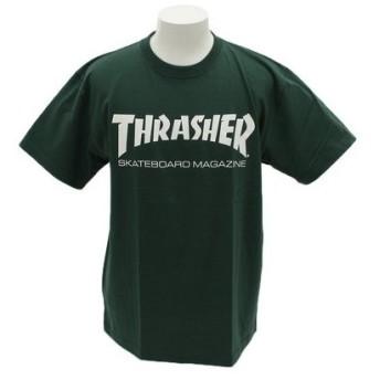 THRASHER 【オンライン特価】 ロゴ 半袖Tシャツ TH8101IV (Men's)