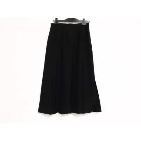 【中古】 ヒロコビス HIROKO BIS ロングスカート サイズ11 M レディース 黒