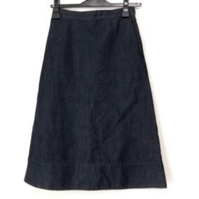 【中古】 メゾン ド リーファー Maison de Reefur ロングスカート サイズ38 M レディース ダークネイビー