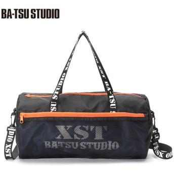 BA-TSU STUDIO バツスタジオ メッシュ使いボストンプールバッグ クロ 男児服飾 ボーイズビーチバック 海水小物 575054 バツスタジオ