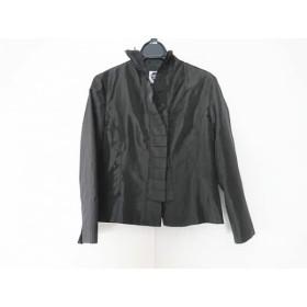 【中古】 ヒロコビス HIROKO BIS ジャケット サイズ9 M レディース 黒 変形デザイン