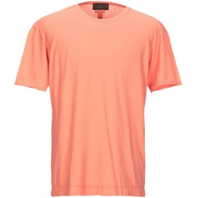 《期間限定 セール開催中》HSIO メンズ T シャツ サーモンピンク XXL コットン 100%