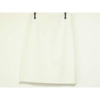【中古】 セオリーリュクス theory luxe スカート サイズ40 M レディース 美品 アイボリー