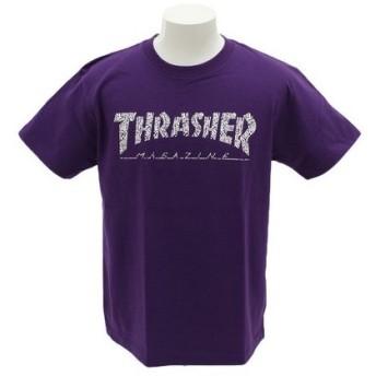 THRASHER HOMETOWN 半袖TシャツTH91113PPL (Men's)