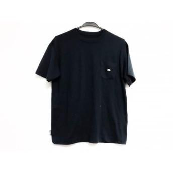 【中古】 ノースフェイス THE NORTH FACE 半袖Tシャツ サイズS メンズ ネイビー