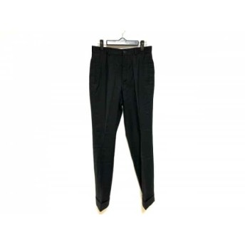 【中古】 トゥモローランド TOMORROWLAND パンツ サイズ44 L メンズ 黒