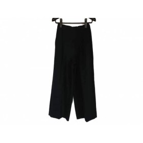 【中古】 エンフォルド ENFOLD パンツ サイズ36 S レディース ダークネイビー ウエストゴム
