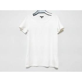 【中古】 セオリー theory 半袖Tシャツ サイズS レディース アイボリー