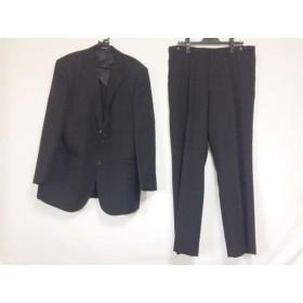 【中古】 リーガル REGAL シングルスーツ サイズAB-7 メンズ 黒