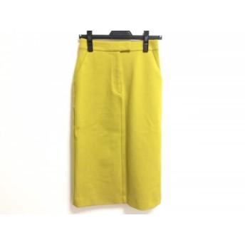 【中古】 ミラオーウェン Mila Owen ロングスカート サイズ0 XS レディース 美品 ライトグリーン