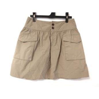 【中古】 ドレステリア DRESSTERIOR スカート レディース カーキ