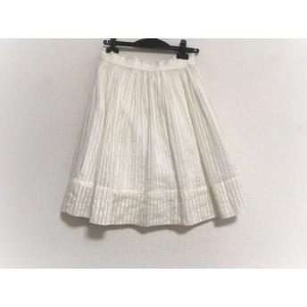 【中古】 セオリーリュクス theory luxe スカート サイズ39 レディース アイボリー