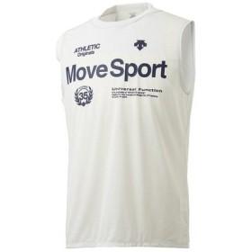 デサント(DESCENTE) ブリーズプラスノースリーブシャツ DMMNJA61N WH (Men's)
