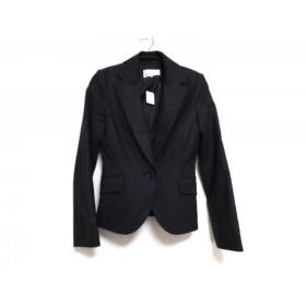 【中古】 エムプルミエ M-PREMIER ジャケット サイズ38 M レディース 美品 ダークグレー