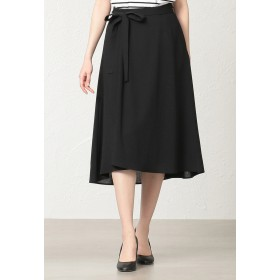 AMACA *STORYコラボ*ナチュラルスラブスカート その他 スカート,ブラック